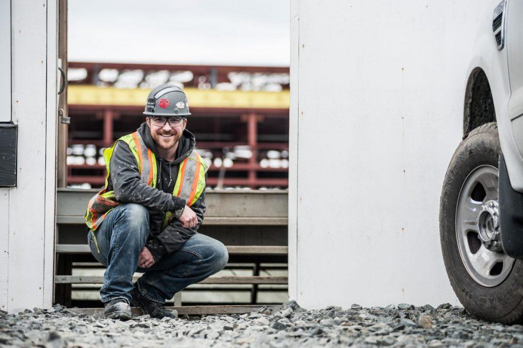 Apprentice Sheet Metal Worker Aaron Smith in British Columbia