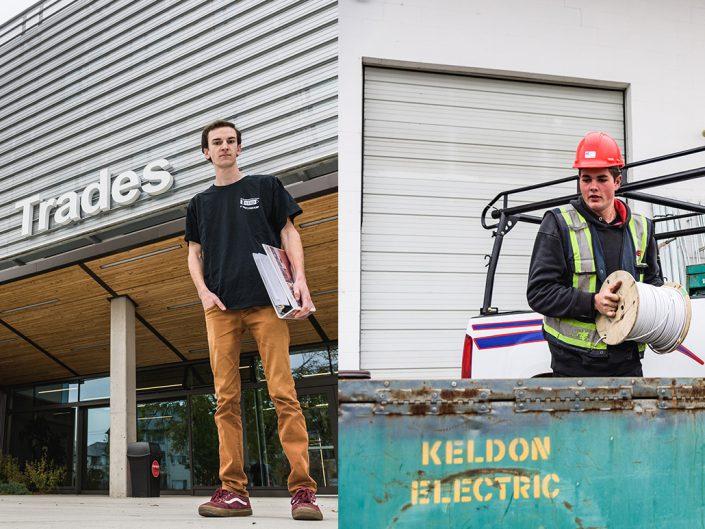 Apprentice Electricians - Brett Halston and Joshua Pavlakovic